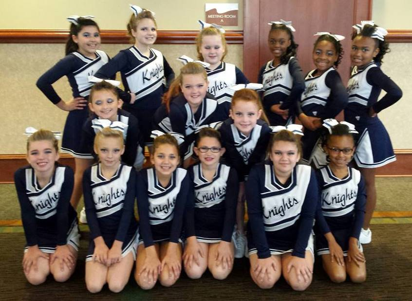 Congratulations to LPBK's 8U Cheerleaders!