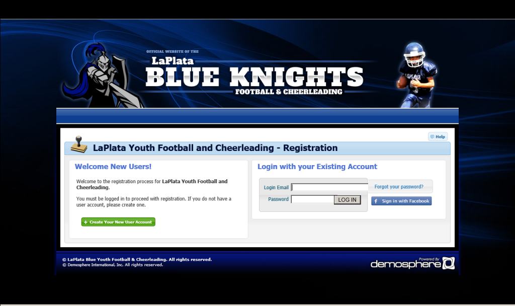 Football & Cheer Online Registration is open to all.